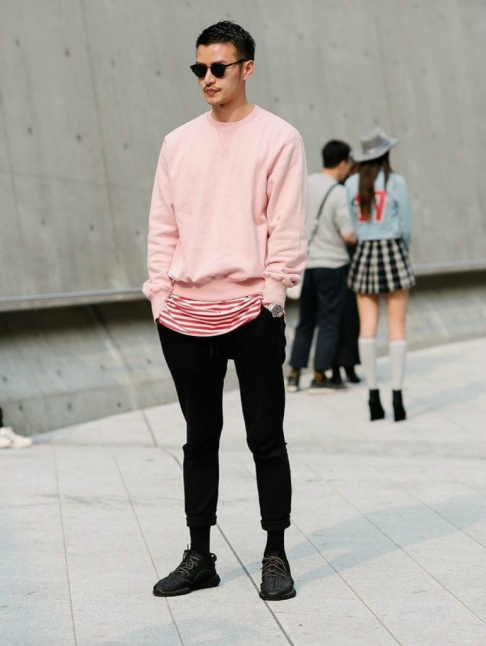 pink-jumper-mens-street-style-how-to-wear-pink-for-men